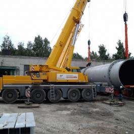 Loading-out in Ulyanovsk and further road transportation, maximum freight weight 75 tons